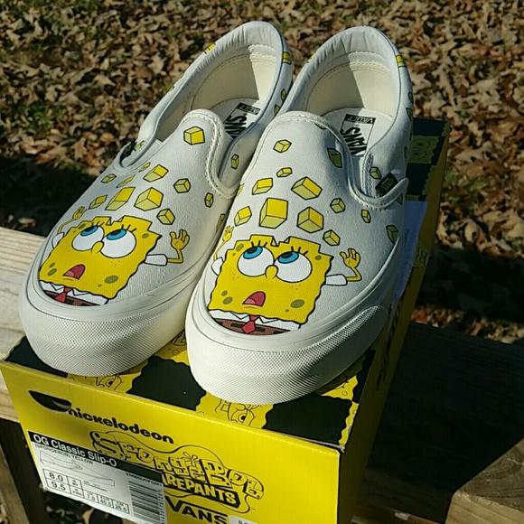 Vans Shoes   Vans Spongebob Slip On